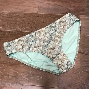 Prana Ramba bikini bottom SZ: large seaside safari